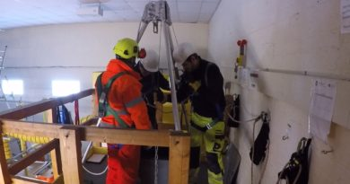 Medium Risk Confined Space Tripod and Winch